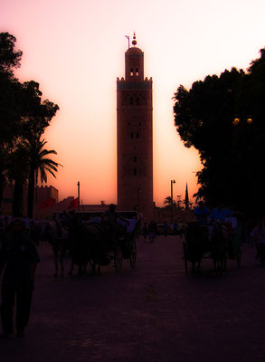 Central Mosque, Marrakech