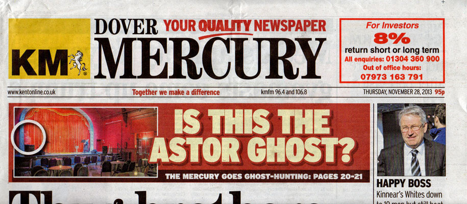 Astor Theatre Ghost Story