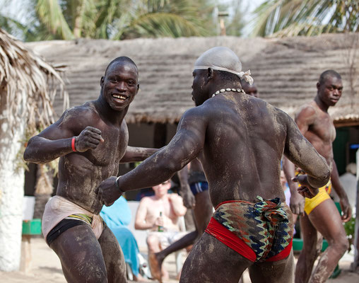 Gambian wrestlers