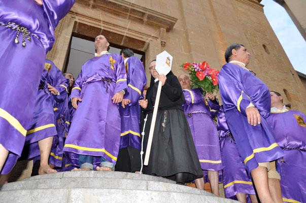 """Cod. 020 Caltanissetta - Giovedì Santo """"Il Cristo Nero"""""""