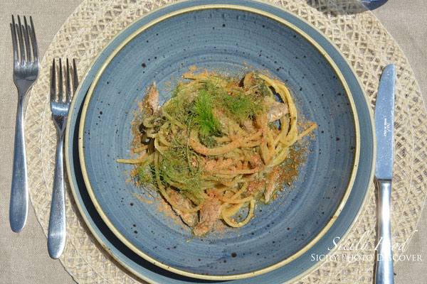 Linguine alici e finocchietto