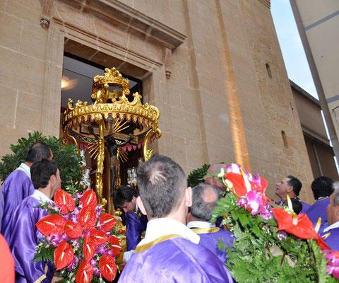 """Cod. 021 Caltanissetta - Giovedì Santo """"Il Cristo Nero"""""""