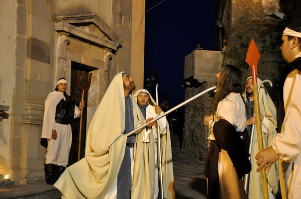 """Cod. 031 Savoca (ME) """"La Passione di Cristo"""""""