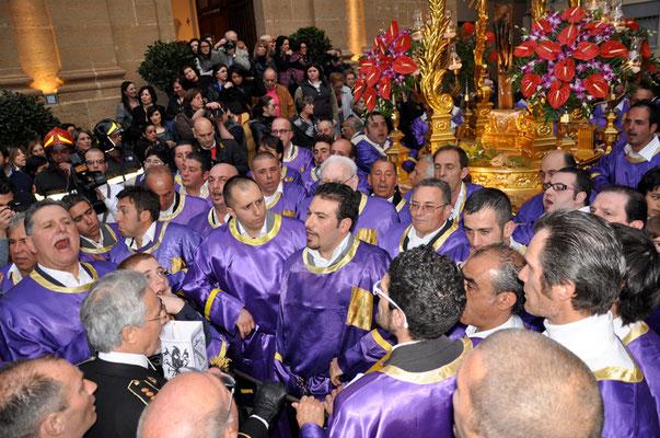 """Cod. 022 Caltanissetta - Giovedì Santo """"Il Cristo Nero"""""""
