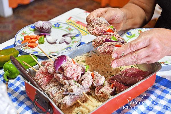 Braciole di carne - Involtini di carne
