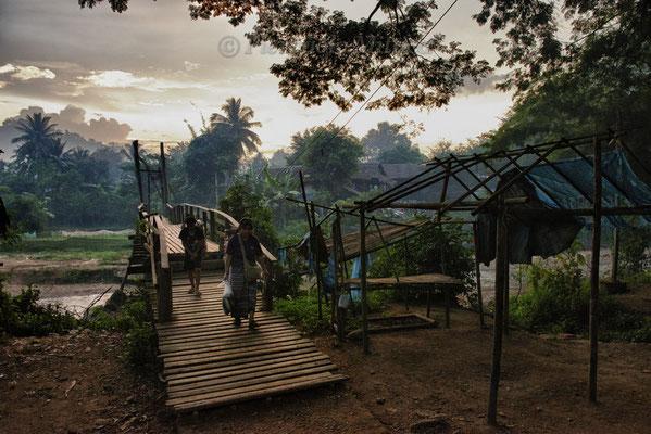 Mae La refugee camp, Thailand