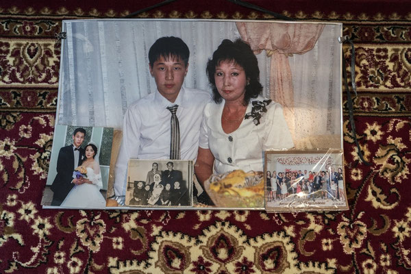 The son and the daughter of Rsaybaev Koksubai Umurtaevich, who died from cancer at a young age  They both lived in Znamenka, the nearest village to the polygon, a high contaminated village.
