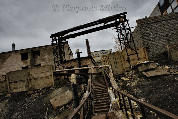 The copper smelting plant