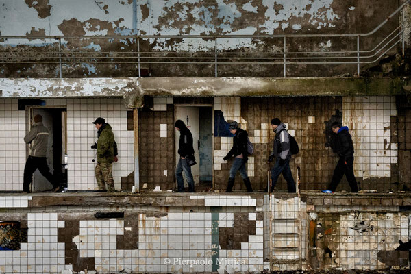 Swimming pool, Pripyat, exclusion zone