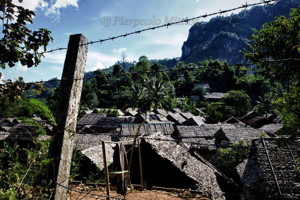 refugee camp in Mae La, Thailand