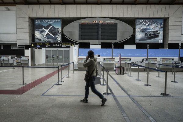 Venice Marco Polo Airport, check in area
