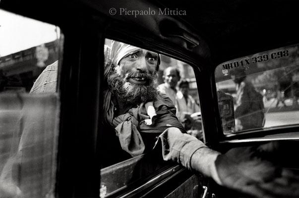 Beggar, Mumbai 2002