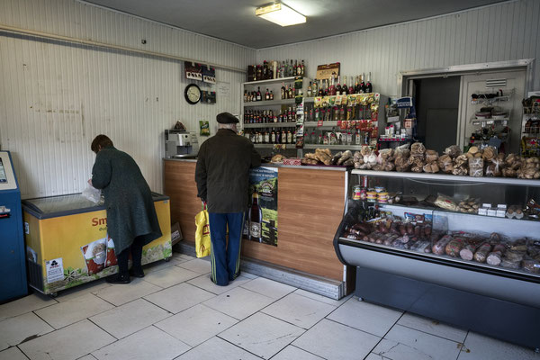 A shop in Chernobyl town