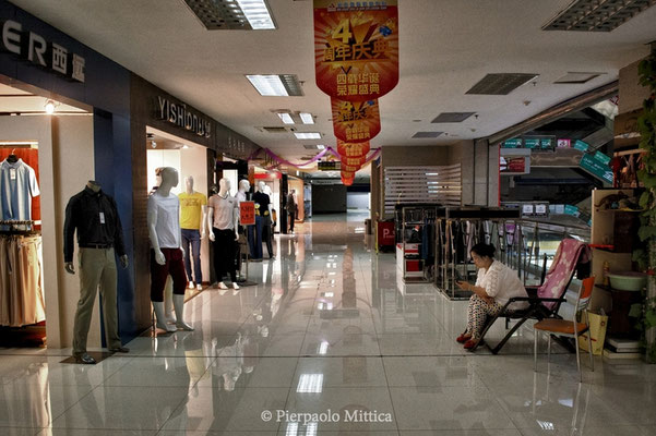 A Mall with only few opened shops