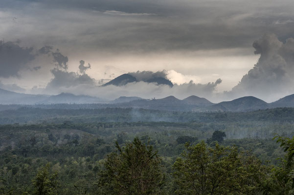 The volcano Ijen