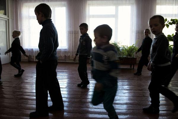 Children in Radinka's school