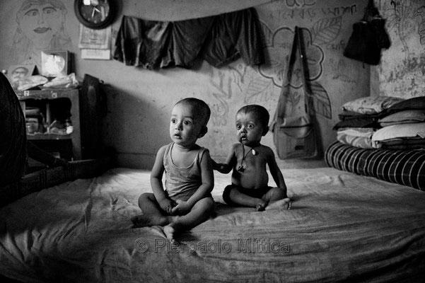 Slum, Dhaka.