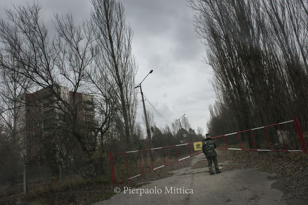 The guardian of the ghost towm of Pripyat