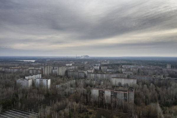 The town of Pripyat is located three kilometers from the Chernobyl nuclear plant. 50 thousand people lived there, and were evacuated two days after the explosion. The people were forced to leave behind everything except for their documents.