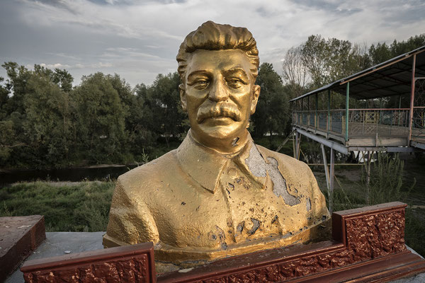 This is the only statue of Josef Stalin that has remained in a public place in the former Soviet Union, all other statues have been removed as a result of the crimes committed by Stalin. Semey