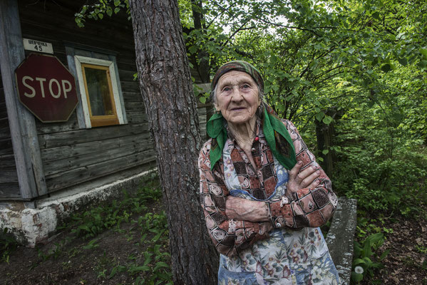 Josepha 91 years old, Marianovka, Chernobyl Exclusion Zone