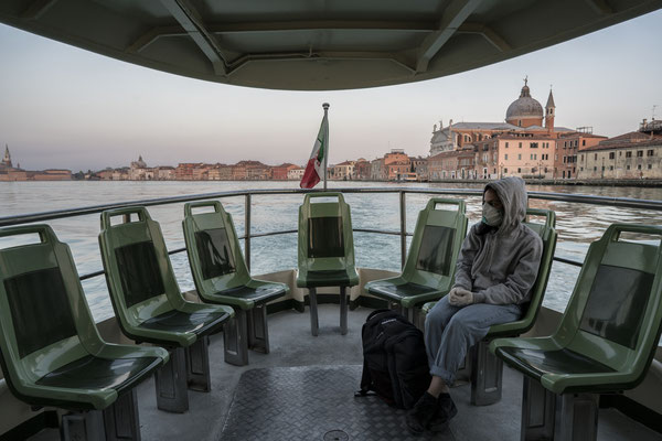 Giudecca seen from the Ferry