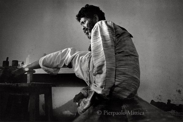 Leprosy colony, Delhi 2002