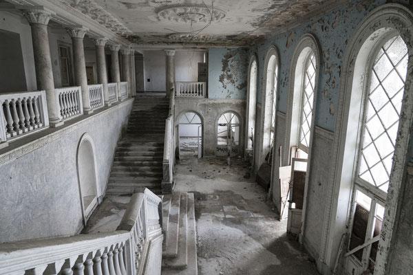 An abandoned sanatorium in Gagra