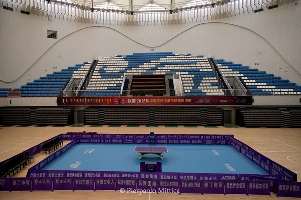 The sports hall is often empty and closed. During the year the government organizes events to bring the audience here also from other nearby cities