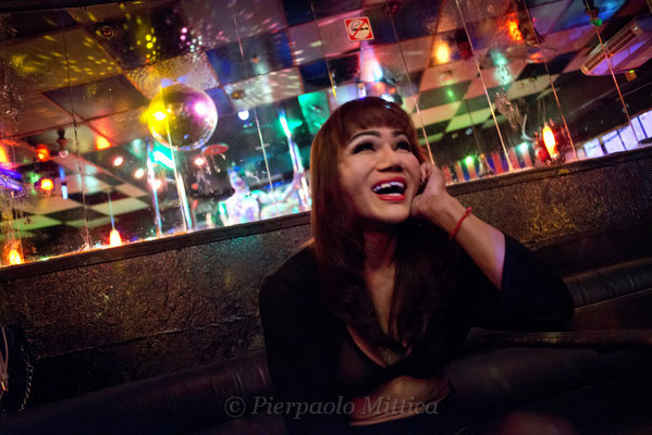 Mamasan Sara is the owner and manager of the Casanova Bar, she started late to take hormones because she belongs to the previous generation, so she did plastic surgery, but she never did Genitalia plastic surgery