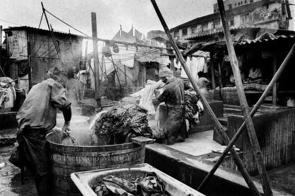 Laundry, Dobi Ghat, Mumbai 2004