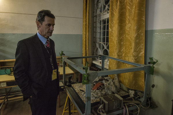 """Doctor Victor Krasnov is the director of the """"Chernobyl Institute of Nuclear Power Plant safety"""" where the scientific laboratories of the city of Chernobyl are located."""