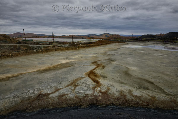 chemical spills from the copper smelting plant