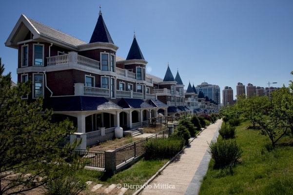 Unsold luxury villas