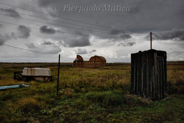 Evacuated village of Muslyumovo