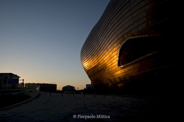The museum of the city of Ordos