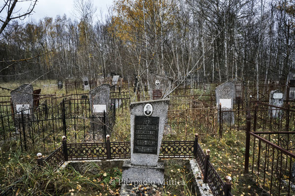 The old Jewish cemetery of Chernobyl  Today the old jewish cemetery of Chernobyl lies abandoned after the nuclear accident of 1986, but still today many Jewish that live around the world, and are originary from Chernobyl, want to be buried in the cemetery