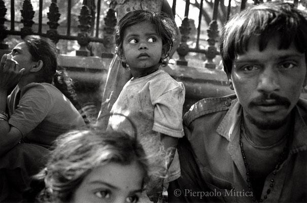Street family, Mumbai 2002