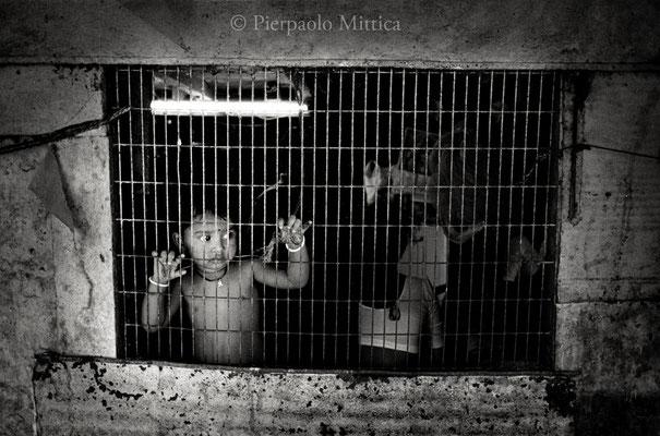 Leprosy colony Borivli, Mumbai 2002