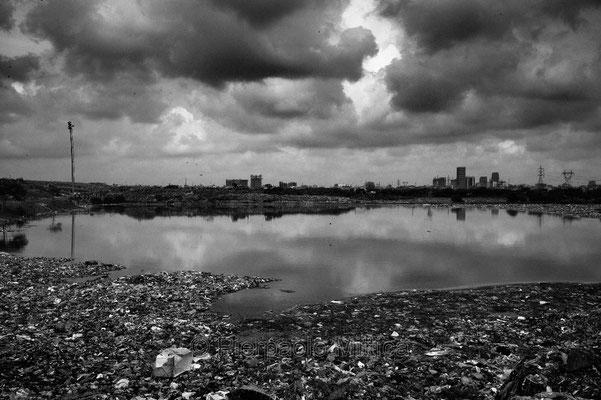 Demra Matoel dump, Dhaka.