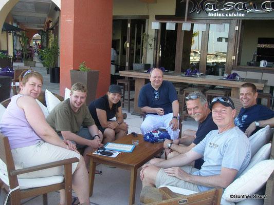 am letzten Tag im Hafen von Hurghada