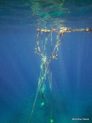 leider wird nicht auf Riffschutz geachtet, Absperrungen müssten schon längst erneuert werden