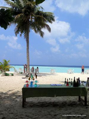 sogar Cocktails gab`s am Strand