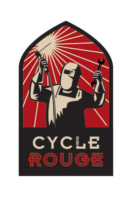logo : atelier vélo Cycle rouge