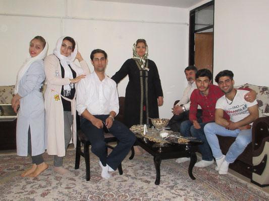 Herzliche Einladung von iranischen Gastgebern