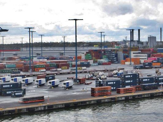 Hafenausfahrt von Helsinki
