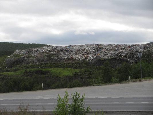 Abfallhalde bei Murmansk