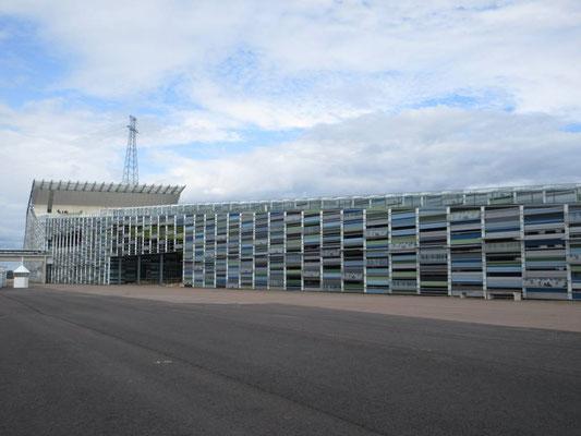 Das Schifffahrtsmuseum von Kotka, ein spezieller Bau