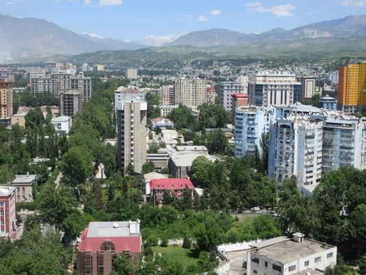 Dushanbe erneuert sich stetig, wo wohnt die arme Bevölkerung?