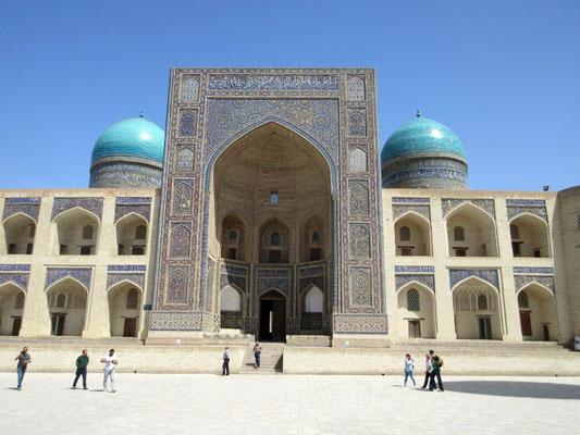 Buchara, Kalon Moschee, eine der ältesten Moscheen und die zweitgrösste Moschee der Welt